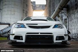 subaru wrx widebody east meets west in a wide body wrx hatch speedhunters