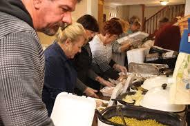 shared blessings prepares for thanksgiving meal daily journal