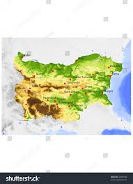 Topographic Map Of Russia U2022 by Bulgaria Map Vector Surface Atlas Software For Diagrams