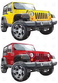 american jeep american off road jeep vector clipart image 6220 u2013 rfclipart