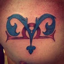 Libra Tattoos Ideas Libra And Pisces Combined Tattoos Libra And Pisces Combination