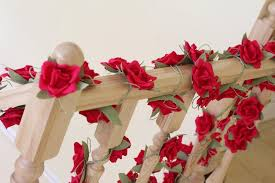 paper garland wedding garland flower garland wedding flower