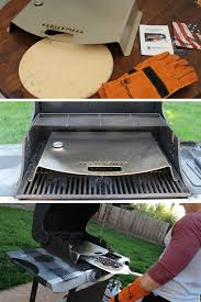 How To Build A Backyard Grill by 6 Ways To Turn Your Gas Grill Into An Outdoor Pizza Oven