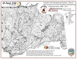 Map Request O Fest 150 Retr O August 2nd 2017 Orienteering Map From