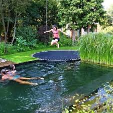 Backyard Designs With Pool Best 25 Backyard Trampoline Ideas On Pinterest Ground