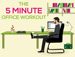 exercises to do at your desk the five minute office workout online doctor blog