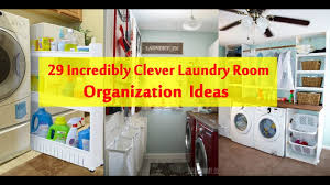 Laundry Room Storage Between Washer And Dryer by 29 Incredibly Clever Laundry Room Organization Ideas Youtube