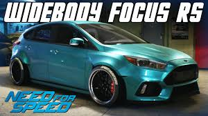ford focus 2015 rs need for speed 2015 widebody ford focus rs car customization