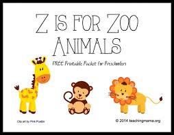 zoo animal printables kids coloring free kids coloring