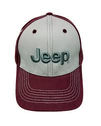jeep maroon jeep 3d silver logo maroon cap hats u0026 caps jeep apparel my
