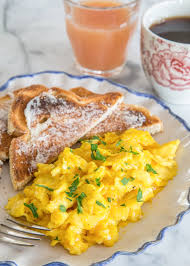 How To Make Really Good Scrambled Eggs by How To Make Soft Creamy Scrambled Eggs Kitchn