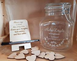 wedding wish jar wedding wish jar etsy