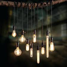 Bare Bulb Pendant Light Fixture Edison Bulb Pendant Light Kit Bulb Pendant Bare Bulb Pendants