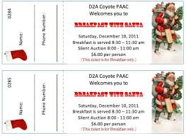 christmas party tickets templates free best business plan template