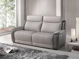 canapé relax electrique 2 places canapé 2 places fixe ou relax électrique ref 32154 meubles cavagna