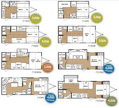 Jayco Travel Trailers Floor Plans by Camper Trailer Layout Excellent Black Camper Trailer Layout