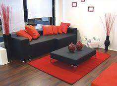 Black And Gold Living Room Alluring Red And Black Living Room - Black living room decor