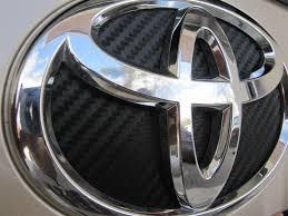 toyota corolla logo how to change background on prius badge emblem carbon fiber vinyl