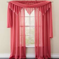 crushed voile sheer curtains