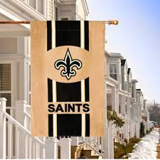new orleans saints outdoor decor and flags saints lawn u0026 garden