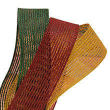 colored burlap ribbon burlap ribbons in all colors and patterns