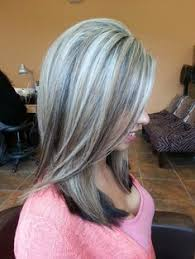 silver hair with blonde lowlights salt and pepper gray hair grey hair silver hair white hair