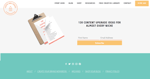 Footer Design Ideas Beginners Guide To Designing A Blog U2014 Charlotte Laila