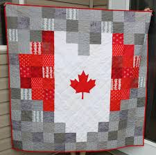 Canadian Flag Patch Daydreams Of Quilts Heart Shaped Canadian Flag Pixelated Quilt