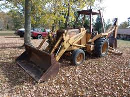 thomas r hunt auctioneers backhoe vehicles trailers ih