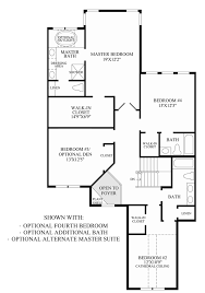 regency yardley the carriage collection victoria home optional bedroom additional bath alternate master suite floor plan