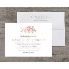 love in bloom deluxe wedding invitation walmart com