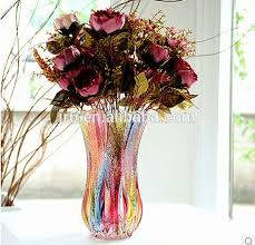 Artificial Flowers In Vase Wholesale Wholesale Handblown Clear Glass Vases Artificial Flower With Glass