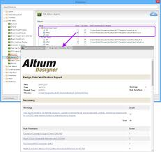 design rule checking online documentation for altium products