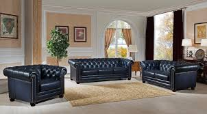 Used Leather Chesterfield Sofa by Amax Nebraska Leather Chesterfield Sofa U0026 Reviews Wayfair