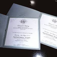 Professional Invitation Cards Sponsored Wedding Invitation Cards By The Card Room Singapore