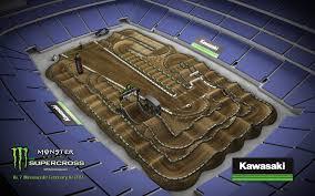 map us bank stadium 2017 minneapolis sx track map transworld motocross