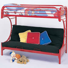 Metal Bunk Bed With Futon Futon Couch Bunk Bed For Kids Glamorous Bedroom Design