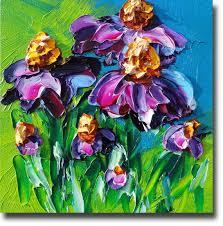 8 best palette knife painting images on pinterest flower