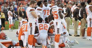 Cleveland Browns Flag Cleveland Browns U0027 Anthem Protest Leads To Protest From Police Union