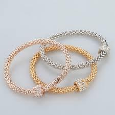 bracelet rose metal images 18k gold silver rose gold plated bracelet eyeconicwear jpg