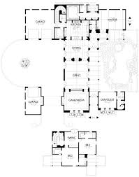 home plans with courtyard santa fe style homes plans evolveyourimage