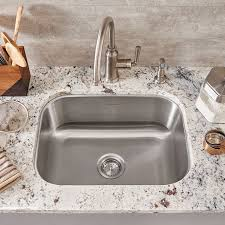 Portsmouth Undermount X Single Bowl Kitchen Sink American - American kitchen sinks