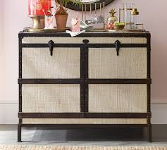 Trunk Bar Cabinet Ludlow Trunk Bar Cabinet Pottery Barn