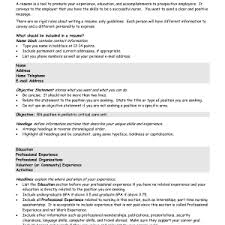 Resume Sample Objective Statement by Cover Letter Resume Examples With Objective Statement Sample