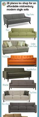 Affordable Mid Century Modern Sofa 100 Of Our Favorite Mid Century Modern Sofas Sectionals From