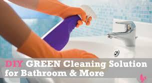 Tea Tree Oil Bathroom Cleaner Homemade Diy Green Cleaner For Your Bathroom Blender