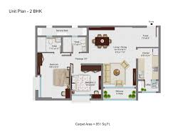 tata avaha floor plans 2 u0026 3 bhk homes 845 sqft to 981 sqft