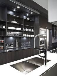 black and white interior in block townhouse by cecconi simone