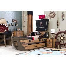 chambre bateau pirate lit bateau pirate lit bateau de pirate avec tiroir de rangement