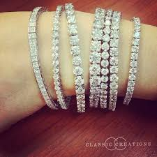 diamond bracelet styles images Diamond tennis bracelets available in different sizes and styles jpg